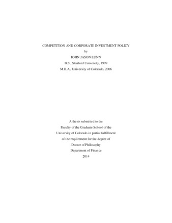 Doctoral dissertation in the scholarly world