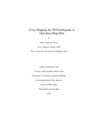 Haiti earthquake thesis english help homework