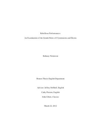 Clytemnestra thesis custom definition essay ghostwriter services usa